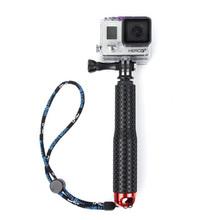 Gopro Monopod Tripod Aluminum Pole Grip Mount for Go Pro Hero 4 2 3 Sjcam SJ4000 for Gopole Perche Action Camera Accessories(China (Mainland))