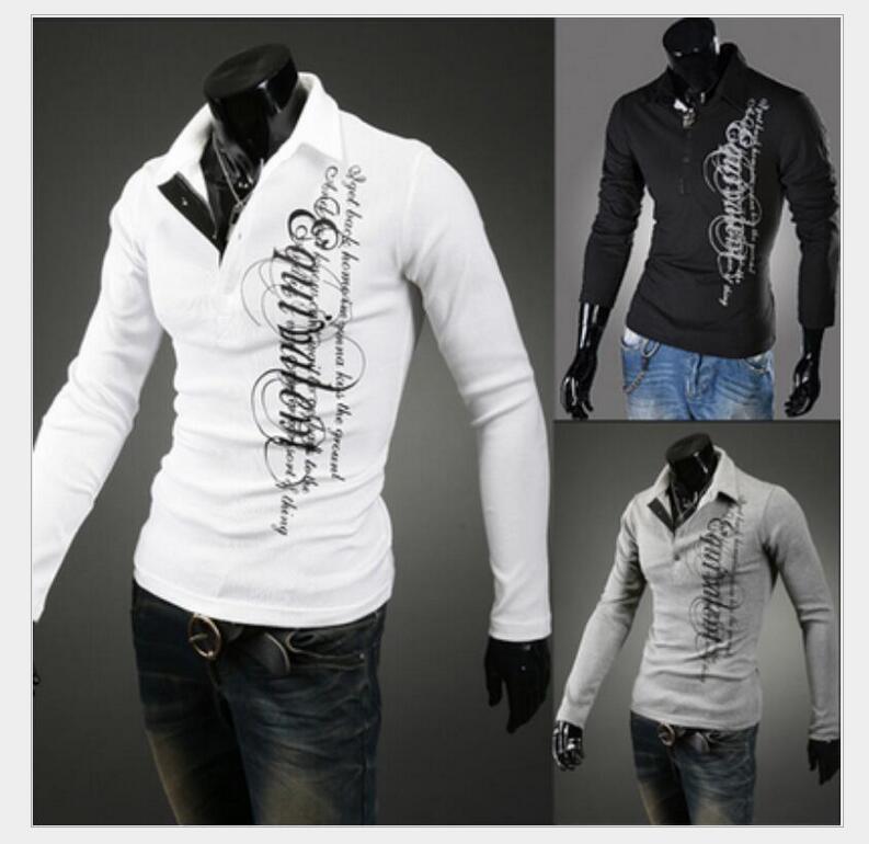 New 2016 Men's Brand Polo Shirt For Men Polos Men Cotton Long Sleeve shirt sports jerseys golf tennis Free Shipping 1399t219(China (Mainland))