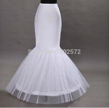 Commercio all'ingrosso della sirena sottoveste 1 hoop bone elastico abito da sposa crinolina tromba 2015  (China (Mainland))