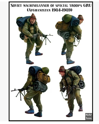 New Unassembled WW2 Soviet Intelligence Agency Special Forces WWII Resin Kit DIY Toys Unpainted kits(China (Mainland))