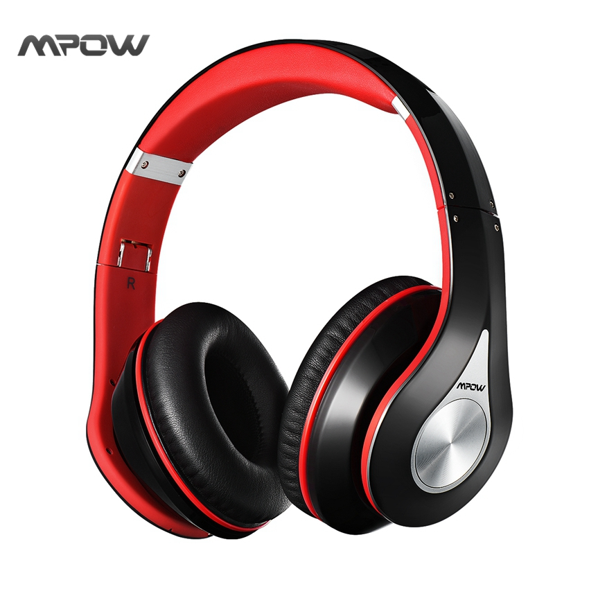 Mpow On-Ear headset Headphone wireless Bluetooth 4.0 Built-in Mic Soft Earmuffs Noise Cancelling Stereo sound wired headset(China (Mainland))