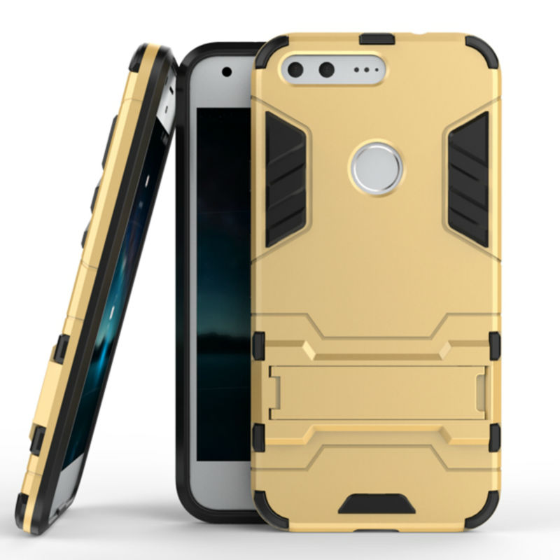 New For Google Pixel Armor Case Silicone+TPU Back Covers Cases For Google Pixel Phone Bag Housing Cases Luxury Mobile Phone Case(China (Mainland))