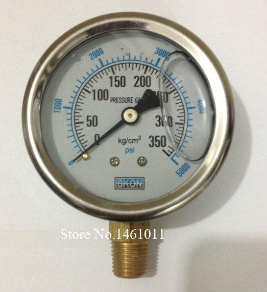 Hydraulic Pressure Meter : Pressure gauge kg psi pt vacuum meter for