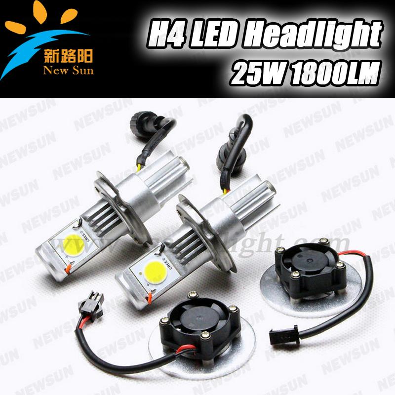 5000K Xenon White led car light h4 cree 50W High power Car Headlight led Lamp Bulbs 1800lm 12V/24V car Truck Universal Bulb<br><br>Aliexpress