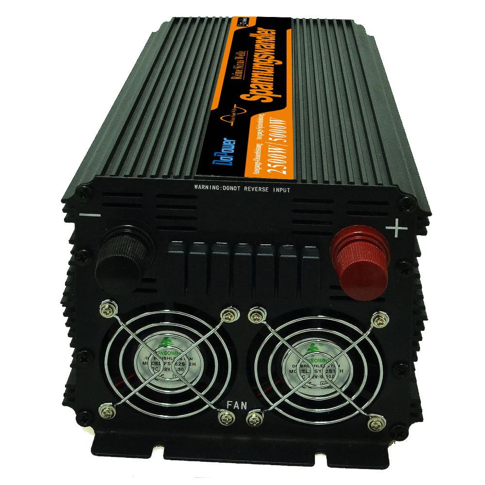 2500W Pure Sine Wave Inverter(peak 5000W) DC24V to AC 220V 230V pure sine wave inverter Remote controland LCD diaplays(China (Mainland))