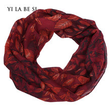 Brand Scarf Women Luxury Elegant Loop Ring Scarves Ladies Girls Plaid and Printed Chiffon Scarf For Women Echarpes NM034