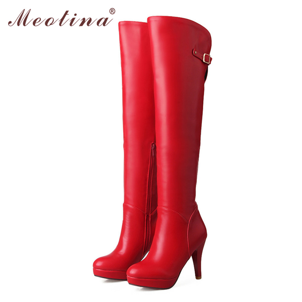 get cheap thigh high boots size 11 aliexpress