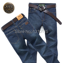 2014 new fall fashion men's business casual Slim waist long jeans(China (Mainland))