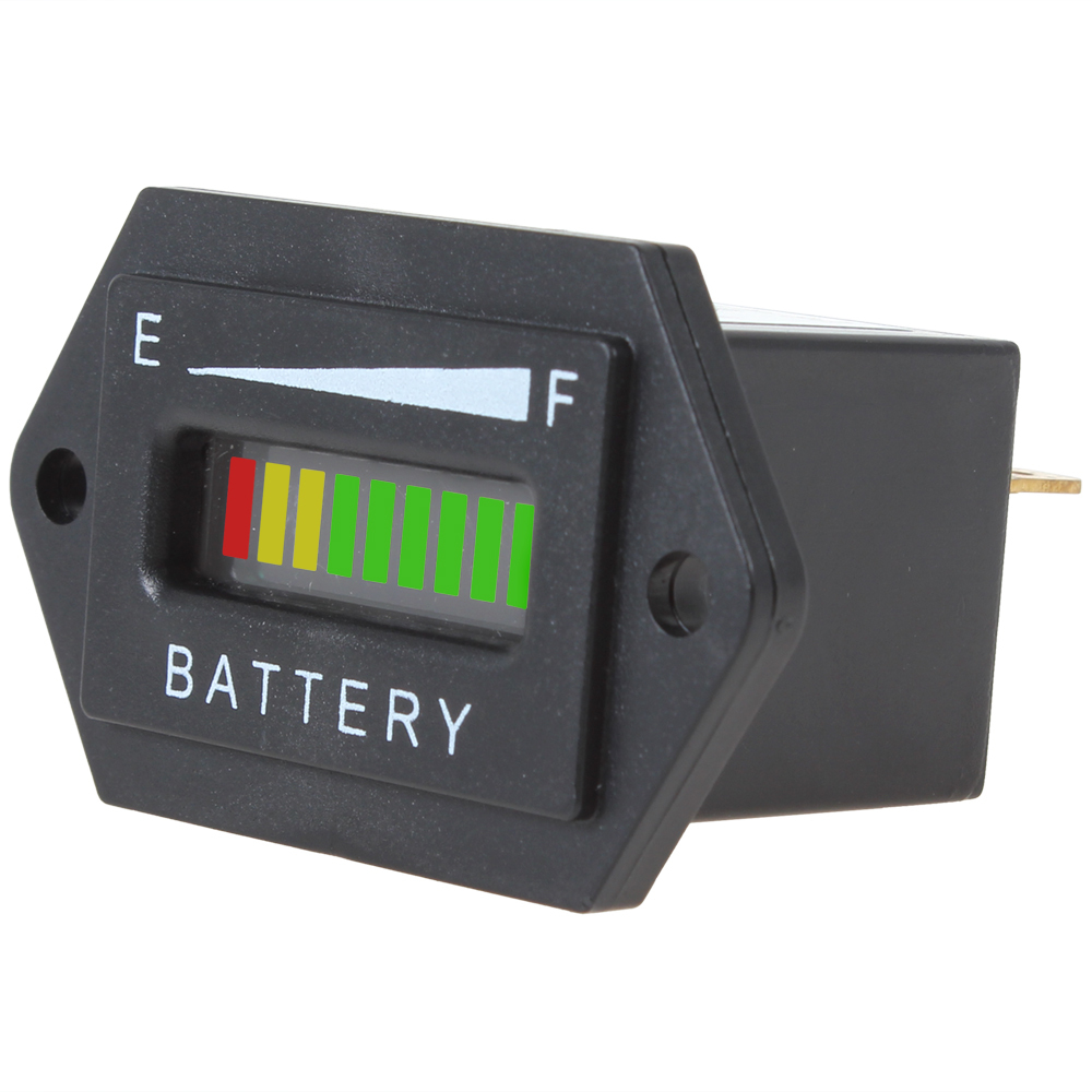 Battery Charge Monitor : Battery status charge indicator monitor meter gauge