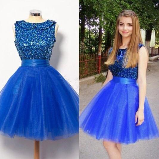 High Quality Royal Blue Dress Puffy-Buy Cheap Royal Blue Dress ...