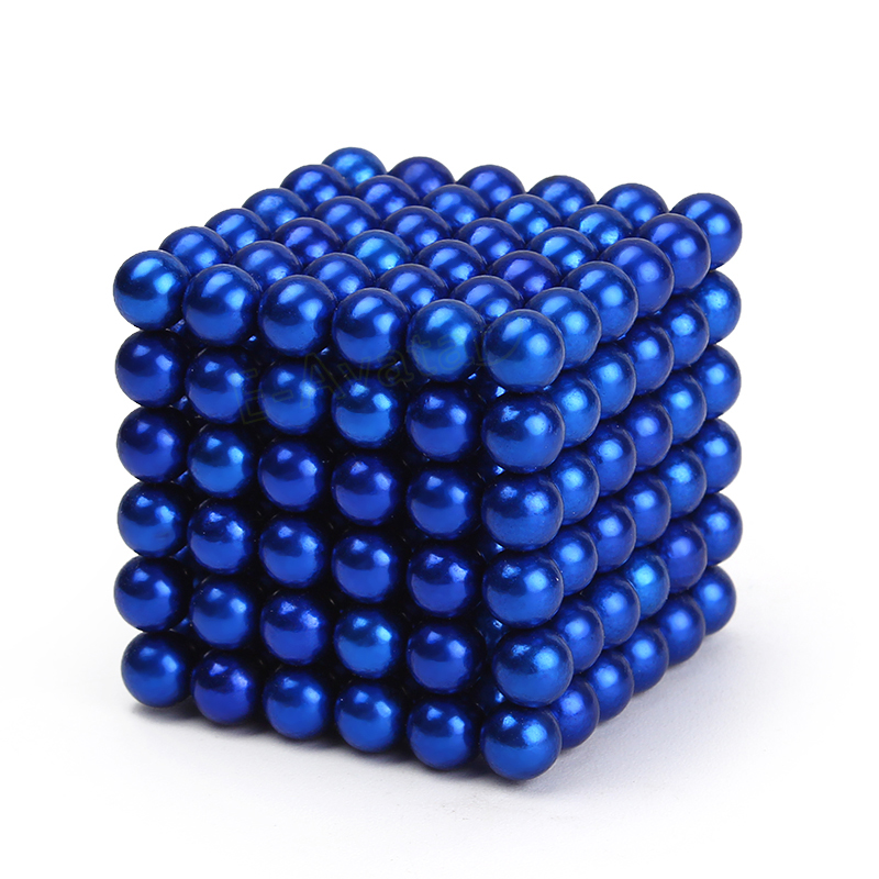 5mm 216 Pieces Sphere Magnetic Balls craft Magic Cube Puzzle Brain Teaser Adult and Children Toy Car Decorations EA10614(China (Mainland))