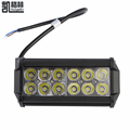 10pcs 36W 12x 3W 3600LM IP65 12 24V Bar Work Flood Light Spotlight LED Car for