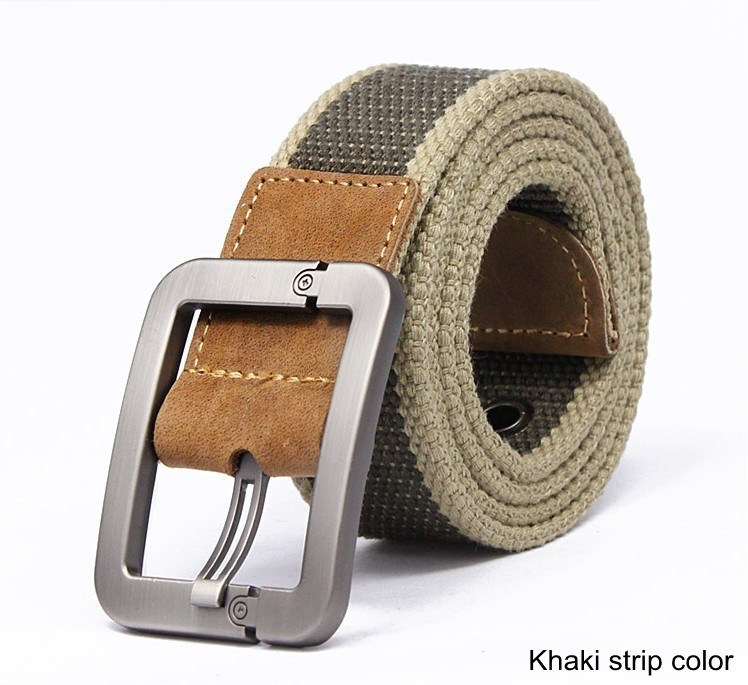 HOT 2015 wholesale Real Solid brand Belt for Men Cinto men s Fashion Pin Buckle Canvas