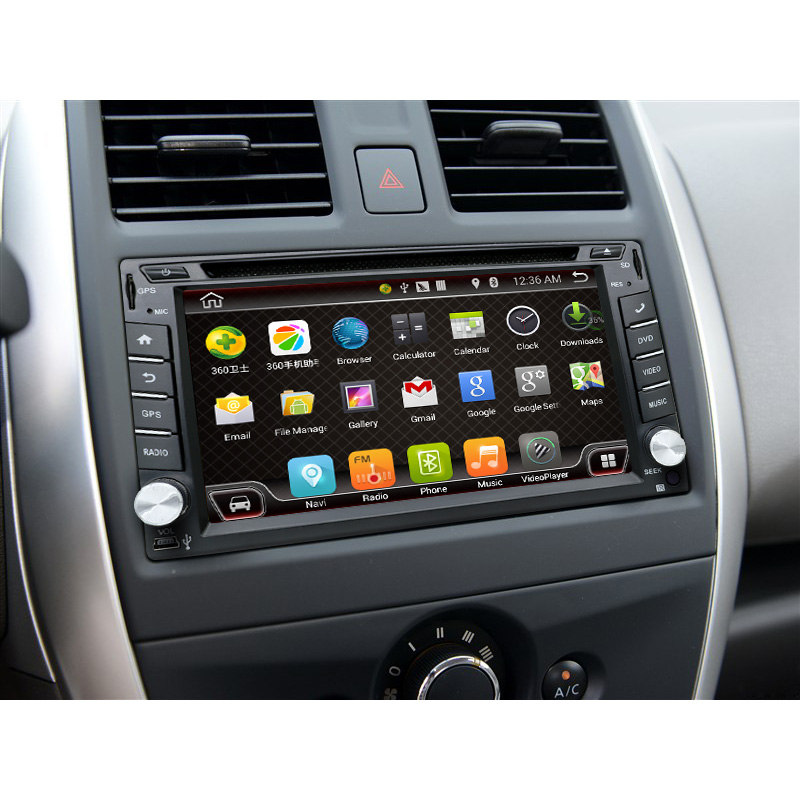 2 Din Android 4.4 Car DVD Player GPS+Wifi+Bluetooth+Radio+Quad CPU+DDR3+Capacitive Touch Screen+3G+Car PC+Audio(China (Mainland))
