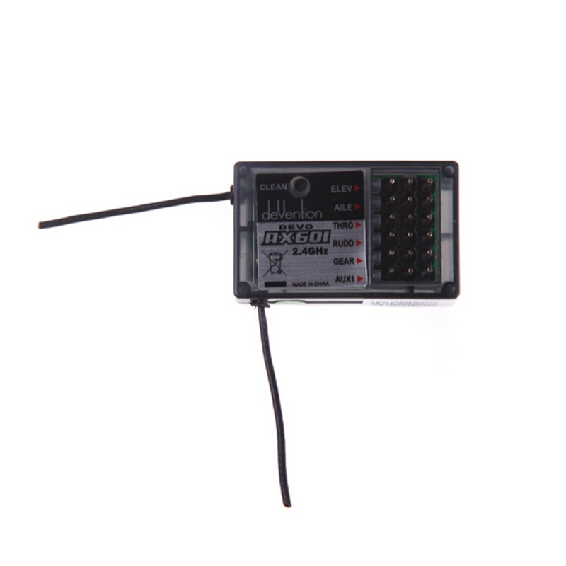 2016 Walkera Devention DEVO Mini 2.4GHz 6CH Standard Receiver RX601 For RC Helicopter Quadcopter Part