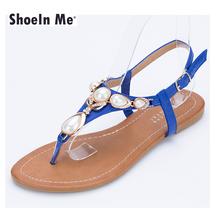 2016 New Women Sandals Brand Quality Leather Beach Sandals Home Fashion Flip Flop Black White Blue Shoes Women Sandalias Mujer