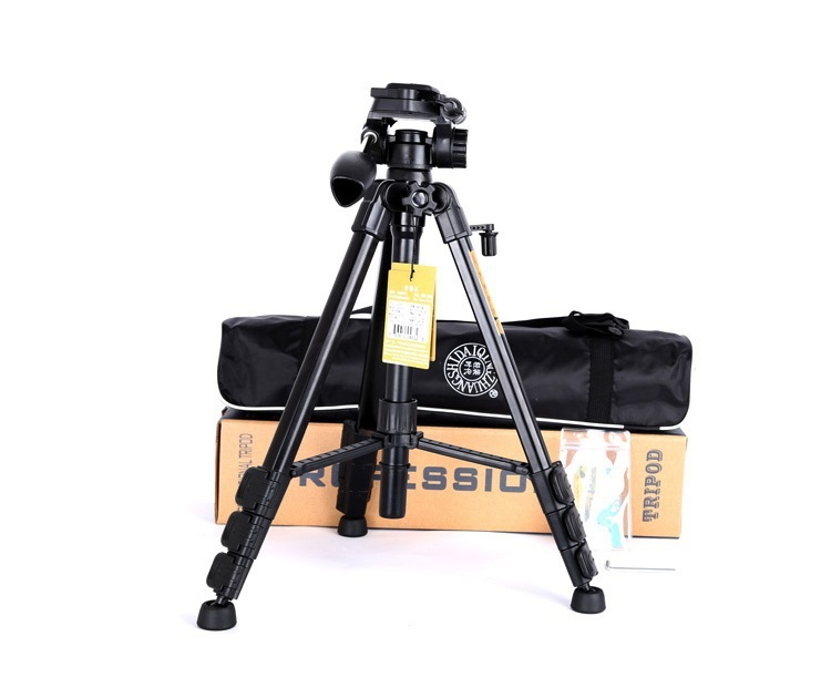 Q111 Portable travel 3KG bear mefoto dslr professional tripod for camera stand slr pro video tripodes para reflex head portable(China (Mainland))