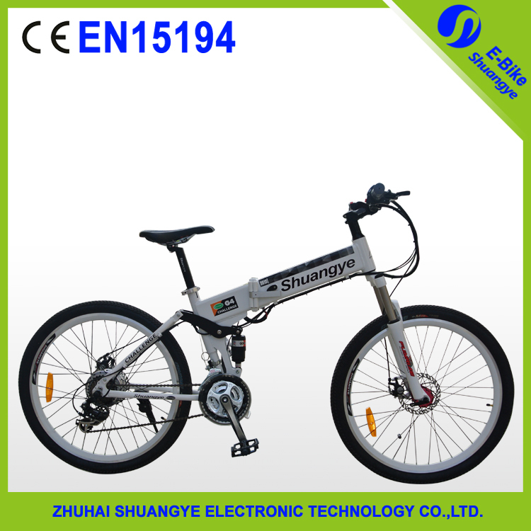 "hot sale 26"" 350W folding electric mountain bike with EN15194 aluminum folding ebike(China (Mainland))"