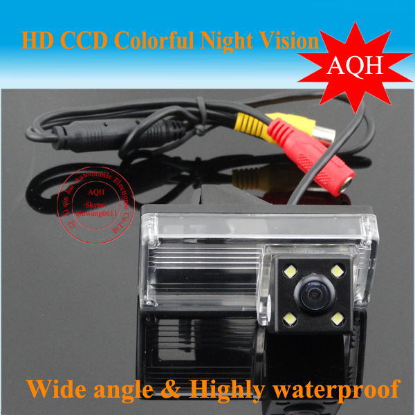 HD Car rear view camera For NEW REIZ 2009/LANDCRUISER Night vision CCD 170 degree Parking assistance Security(China (Mainland))