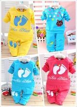 Hot sale spring autumn baby clothing sets baby girls boys clothes toddler clothes suits t shirt
