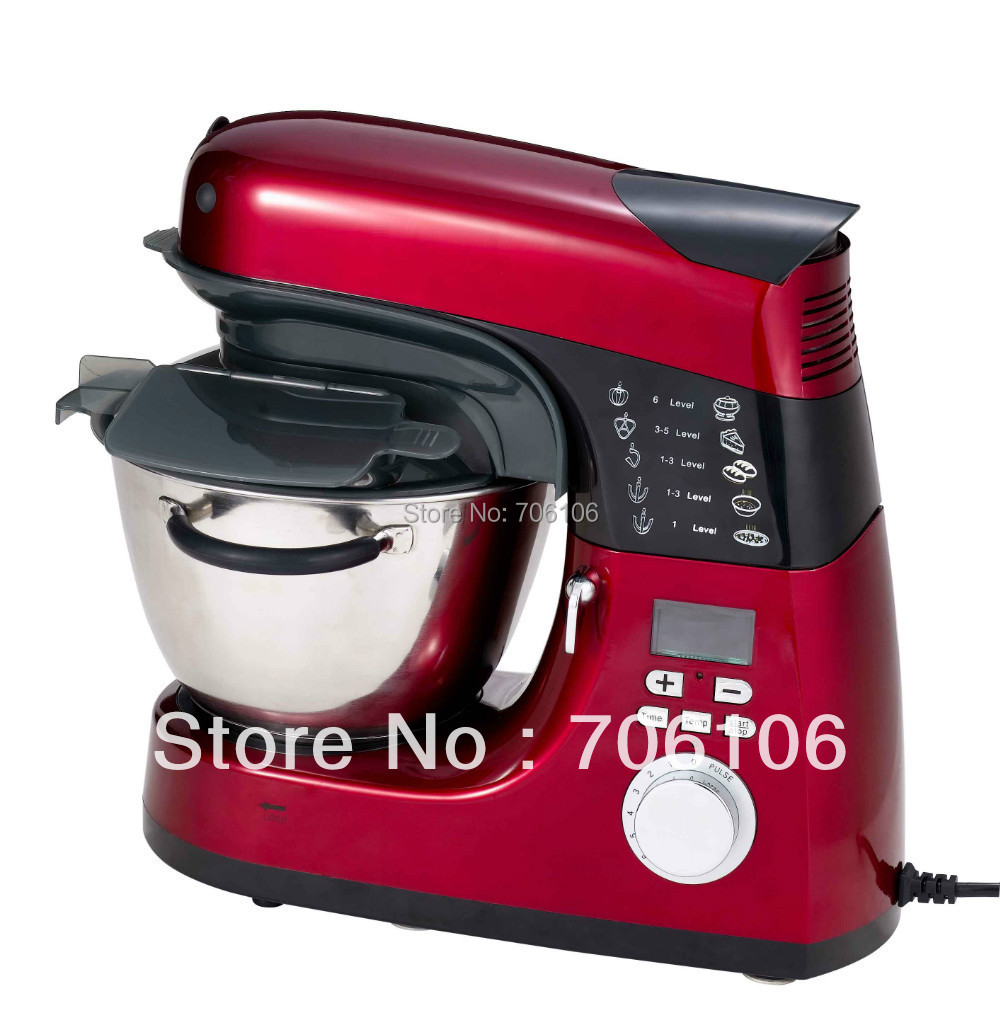 Kenwood Cooking Chef Stand Mixer with A COLD & HOT Multi-Functional (Frying noodle,rice,vegetable ...) HA-3477R(China (Mainland))