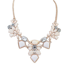 Satr Jewelry Resin Fashion Necklace Charm Gem Cute Maxi Necklaces Pendants Fashion Jewelry Jewelery Woman Gift