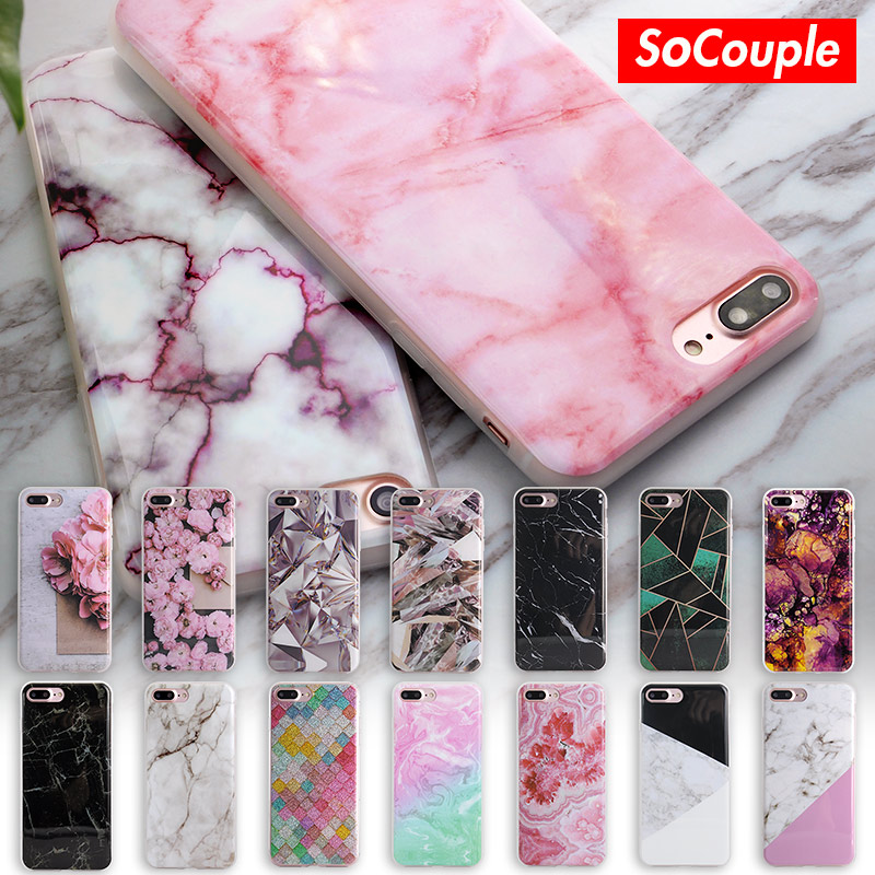 Soft TPU Case for iphone 5s 5 SE 6 6s 6plus New Arrival Granite Scrub Marble Stone image Painted Phone Case For iphone 7 7plus(China (Mainland))