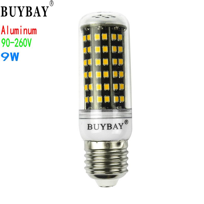 Aluminum pcb+90-260V SMD 2835 9W e27 led bulb warm white/Cold white led lamp free shipping(China (Mainland))