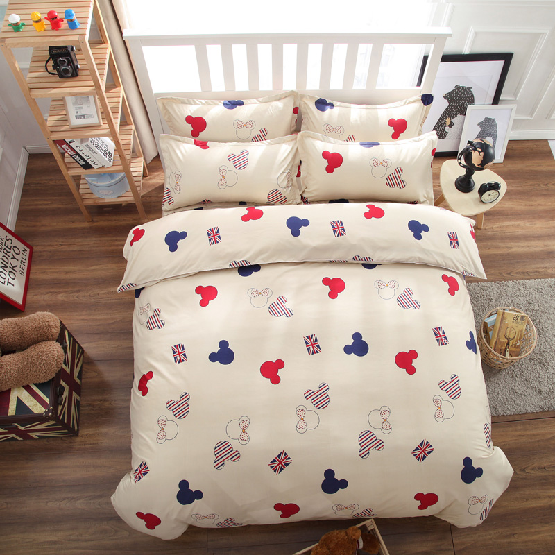 Popular Queen Size Mickey Mouse Bedding Buy Cheap Queen
