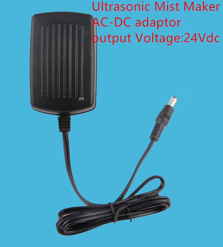 Ultrasonic Mist Maker AC-DC adaptor Fogger Water Fountain Pond Atomizer Air Humidifier(China (Mainland))