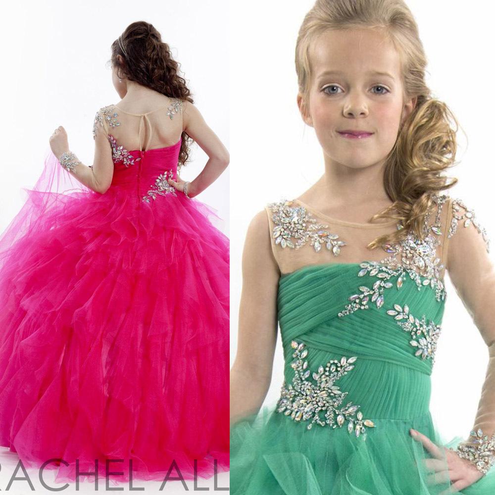 Turmec » ball gown dresses for little girls