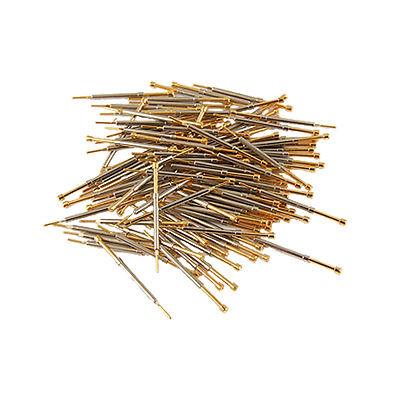Здесь можно купить  1.1mm Serrated Tipped Metal Spring Test Probes Pin 100pcs  Электротехническое оборудование и материалы