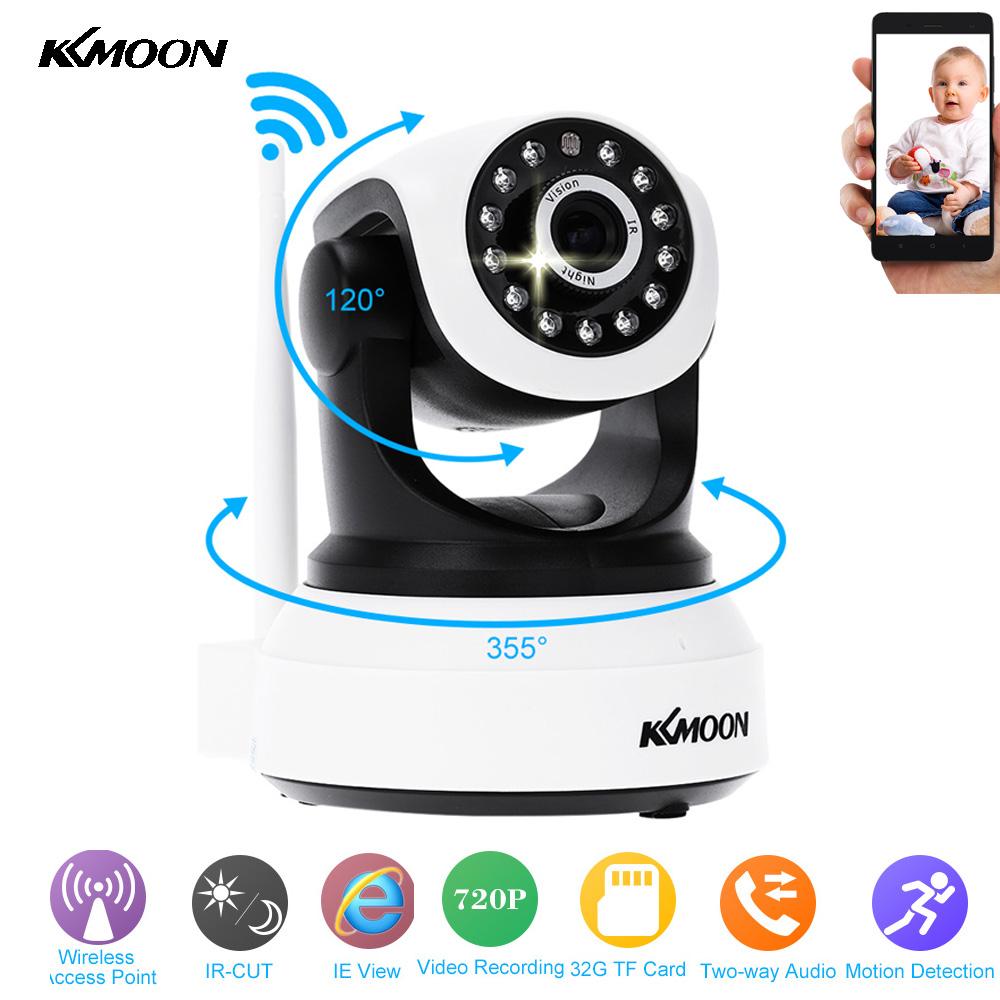 KKMOON HD Wireless Wifi IP Camera 720P IR Night Vision Onvif P2P Security Camera Audio Recording IP Wifi Camera Support TF Card(China (Mainland))