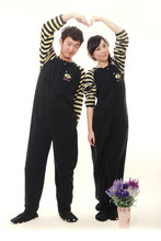 Adult footed pajamas for