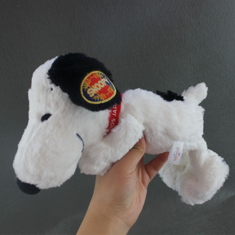 25CM Original Snoopie Plush Toys Snoopie Dog Stuffed Soft Doll for Kids Gift(China (Mainland))