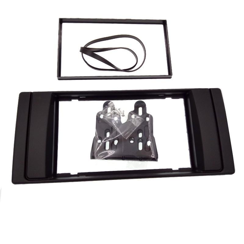 Купить Двухместный 2 Din Панель Рама Радио Фризовая для BMW X5 (E53) 5 (E39) 1995-2003 Стерео Интерфейс Тире Монтаёный Комплект CT-CARID