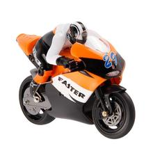 2.4G 1:16 High Speed Drift CVT Motorcycle Mini RC Remote Control Racing BIKE RTR Gyro Orange and Blue Great Children Gift(China (Mainland))