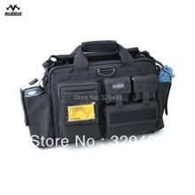 Maxgear  Military Mulfunctional Tactical Briefcase Army Quality Document Man Travel Single Shoulder Bag 1000D Nylon Ykk zipper(China (Mainland))