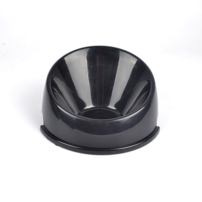 Convenient Feeding Small Dog Bowl Non-slip Oblique Mouth Durable Water Dish Feeder Pet Bowl Portable PT0068(China (Mainland))