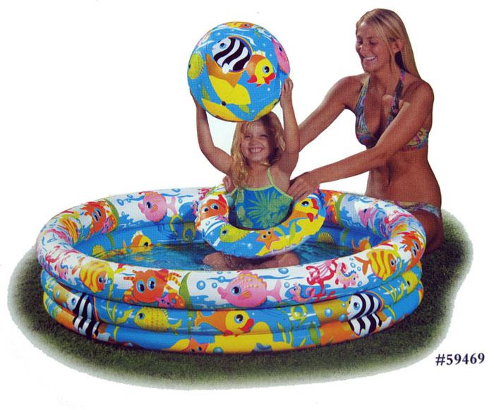 Free shipping Intex inflatable swimming pool child 59469 paddling pool ocean ball pool sand pool swim ring ball(China (Mainland))