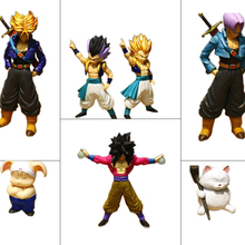 10type Dragon Ball Z Goku Gotenks Trunks Chaos Action Figures Japan Anime Collections Toys Gifts For Kids With Nice Package #F