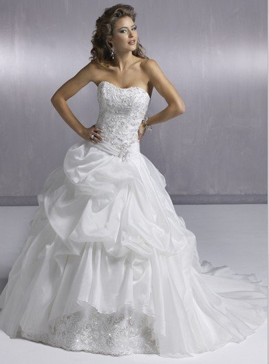 nobleness wedding dresses 2012 new style free shipping AD2166