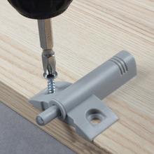 10 Pcs Soft Quiet Close Kitchen Cabinet Door Drawer Closer Damper Buffers+Screws Practical Home#52045(China (Mainland))