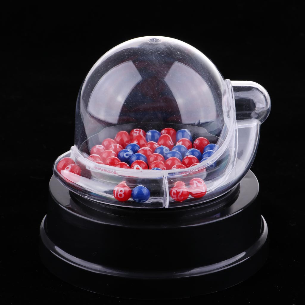 Electric Lucky Number Picking Machine Lottery Bingo Games Shake Lucky Ball