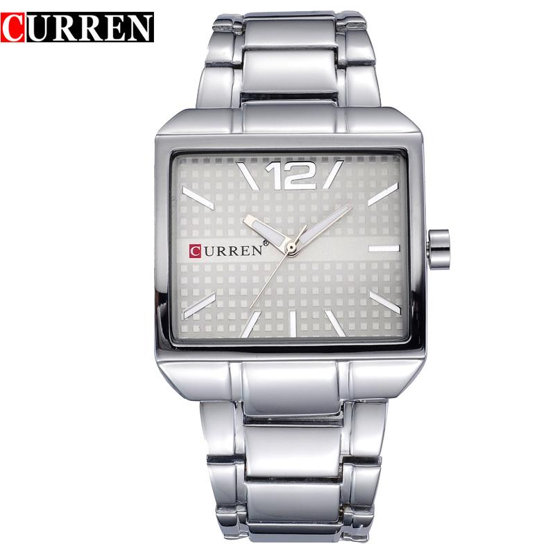 2016 Men Wristwatches Quartz Reloj CURREN Brand Watches Fashion Business Watch Leather Strap Clock Male Watches(China (Mainland))