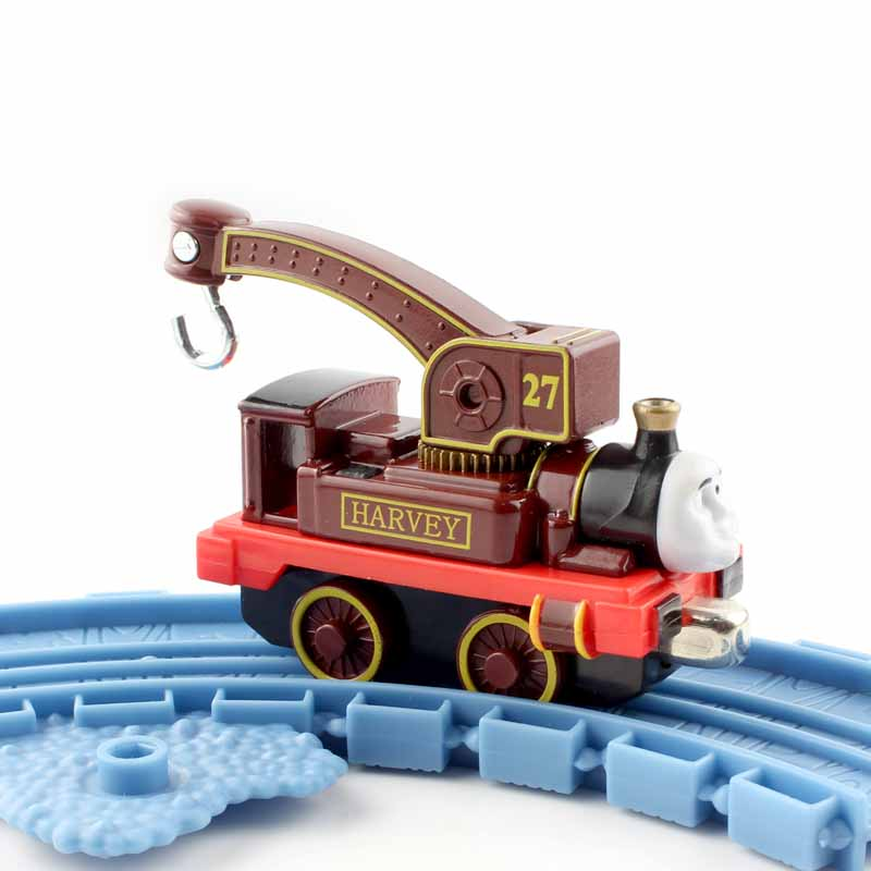 Harvey Boys Thomas and friends trains the tanks engine crane hook cars trackmaster die cast models magnetic thomas train toys(China (Mainland))