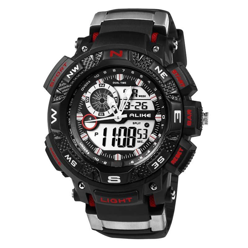 Mens Digital Watch Large Display Watch Men's Digital Watch