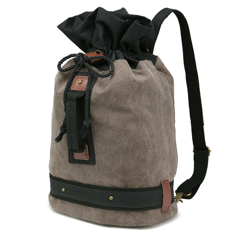 2015 Backpack Female Rucksack Outdoor Multi Stylish Vintage Casual Canvas Backpack Laptop Contrast Color Blank Canvas