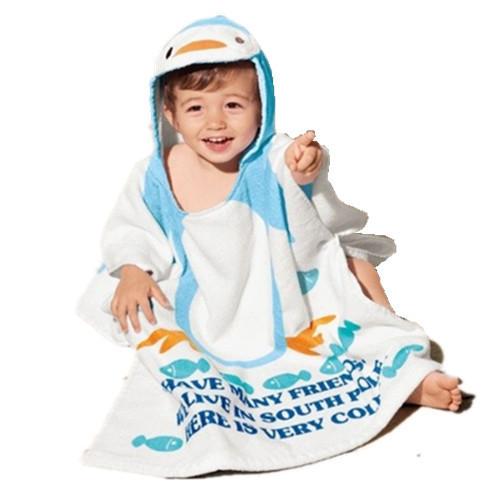 Горячие продажи 100% хлопка пляж платье халат 10 цвета дети пляжные полотенца 1-10 ...