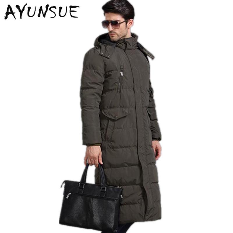 Popular Long Down Coat Men-Buy Cheap Long Down Coat Men lots from